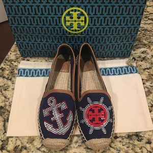 Tory Burch Espadrilles /Size 6 NWOT
